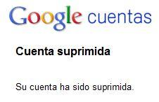 Como borrar mi cuenta de Google
