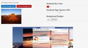Como poner una imagen de fondo en facebook
