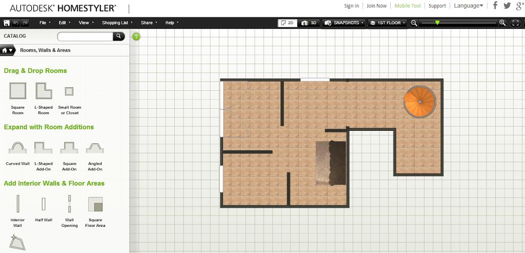 Autodesk homestyler dise a tu casa desde la web for Disenar casa online con autodesk homestyler