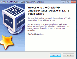Instalador de Virtualbox Guest Additions