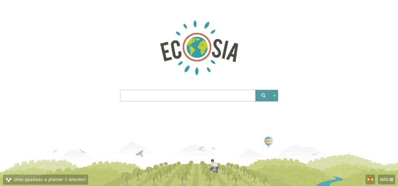 Ecosia buscador ecologico