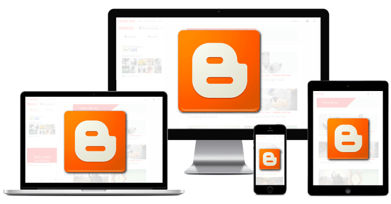 Blogger responsive design