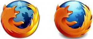 Antiguo logo de Firefox