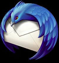 Thunderbird logo PNG