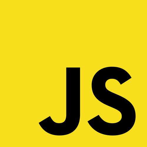 Logotipo no-oficial de Javascript, lenguaje de programación web
