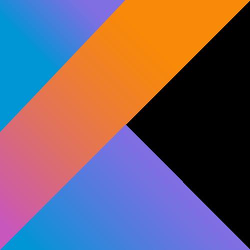 Logotipo de Kotlin, lenguaje de programación para Android